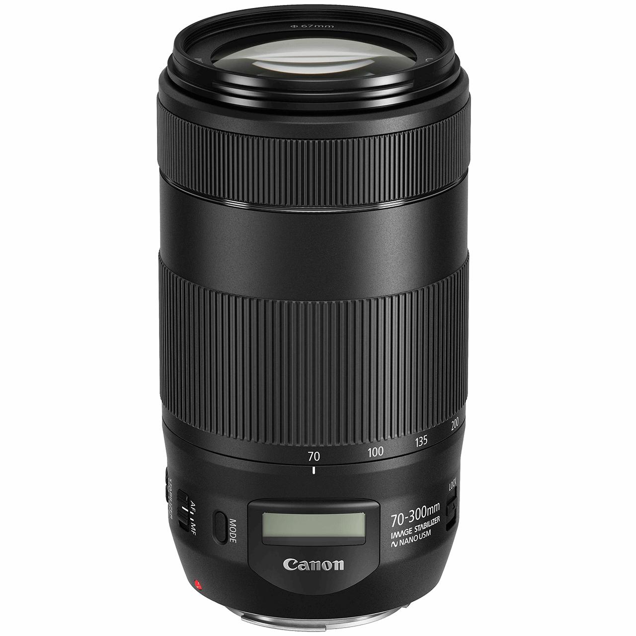 لنز کانن مدل EF 70-300mm f/4-5.6 IS II USM