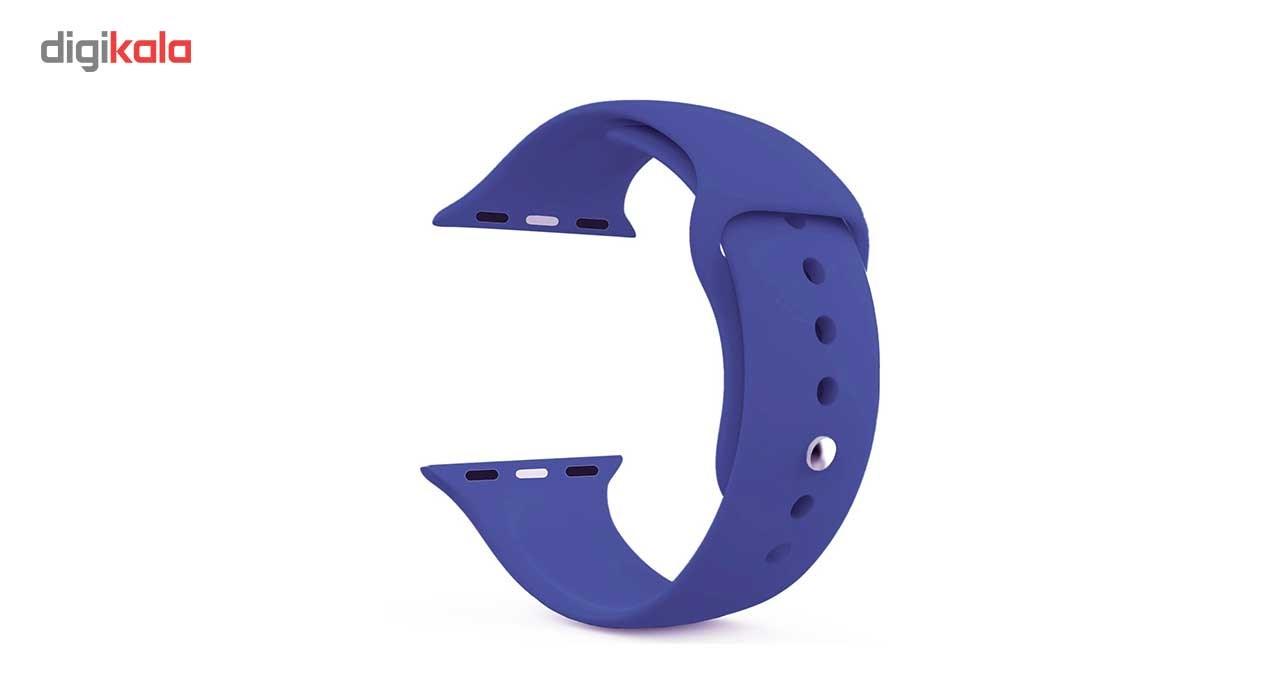 بند سیلیکونی کوتتسی مدل Sport مناسب برای اپل واچ 42 میلی متری main 1 1