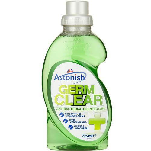 مایه ضد عفونی کننده آنتی باکتریال سطوح استونیش مدل Germ Clear حجم 725 میلی لیتر