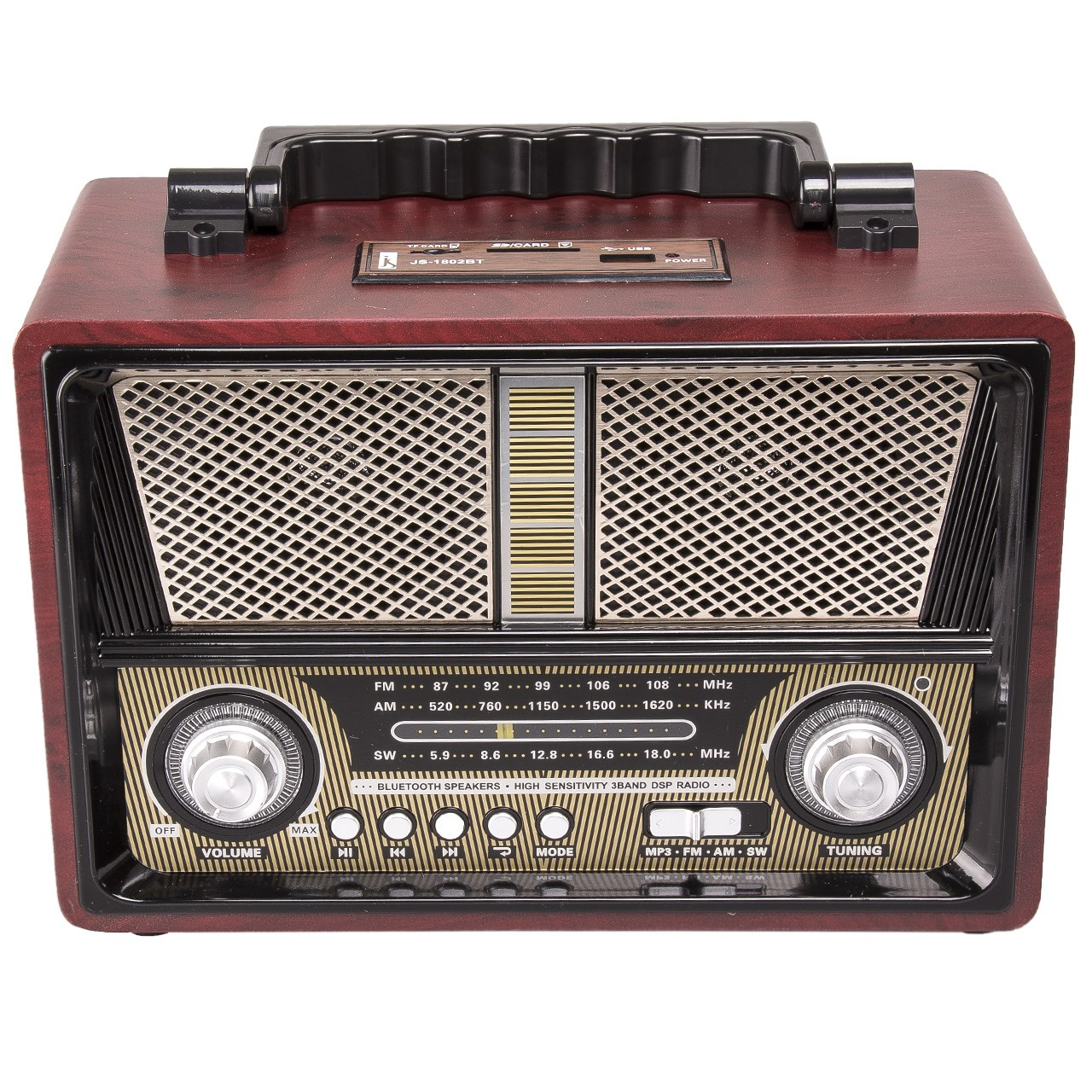 رادیو جی اس مدل BT-1802