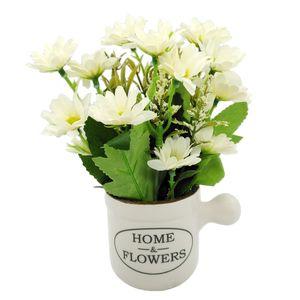 گلدان به همراه گل مصنوعی کیدتونز کد KGG-008-4