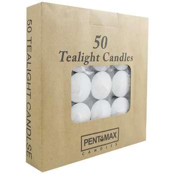 شمع وارمر PENT MAX مدل Tealight بسته 50 عددی