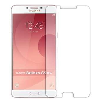 محافظ صفحه نمایش شیشه ای مدل Tempered مناسب برای گوشی موبایل سامسونگ Galaxy C9 Pro