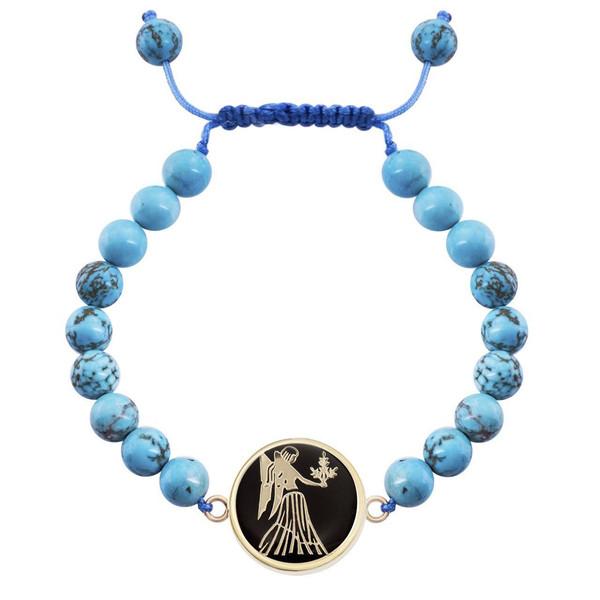 دستبند طلا 18 عیار مرجان مدل0712