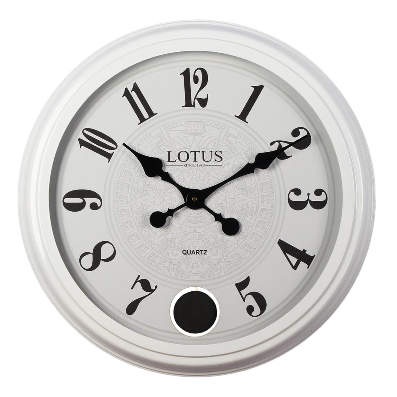 ساعت دیواری لوتوس کد Victor-16006