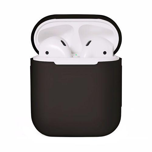کاور محافظ سیلیکونی به همراه یک بند نگهدارنده مناسب برای کیس Apple AirPods