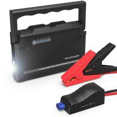 شارژر همراه و استارتر خودرو راو پاور مدل RP-PB053 ظرفیت 18000 میلی آمپرساعت