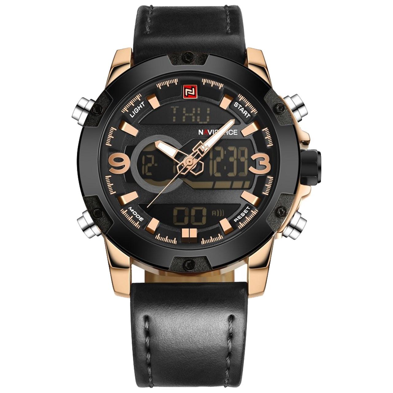 ساعت مچی عقربه ای مردانه نیوی فورس مدل NF9097M/BGW