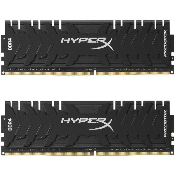 رم دسکتاپ DDR4 دو کاناله 3200 مگاهرتز CL16 کینگستون مدل HyperX Predator ظرفیت 8 گیگابایت