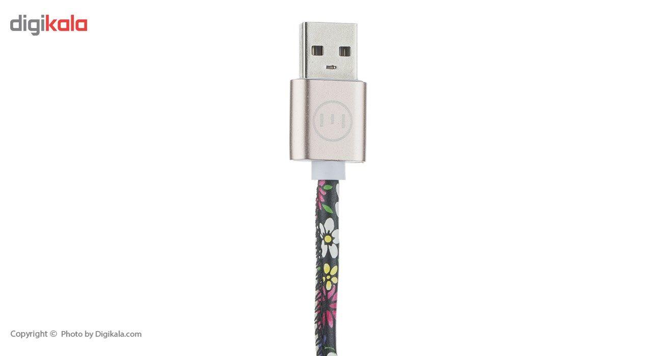 کابل تبدیل USB به MicroUSB میزو مدل K2 طول 0.25 متر main 1 2