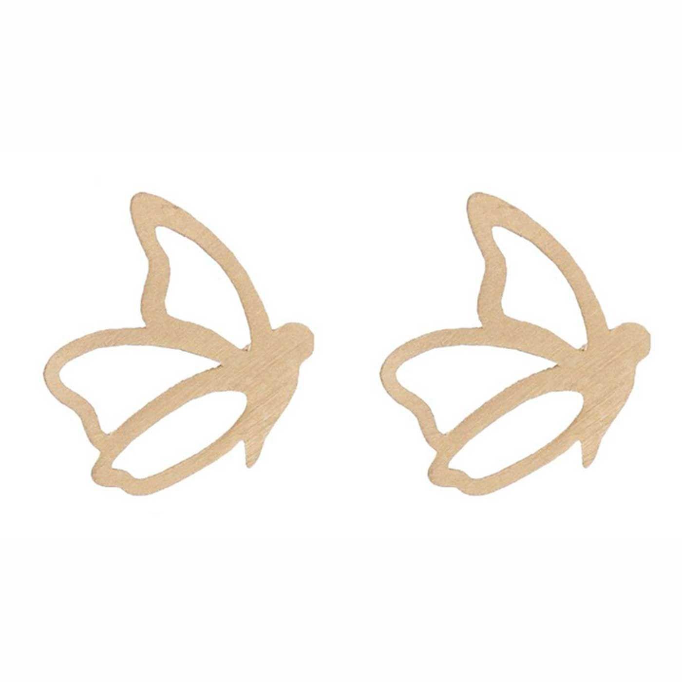 گوشواره طلا 18 عیار زنانه کانیار گالری کد GOA96 -  - 3
