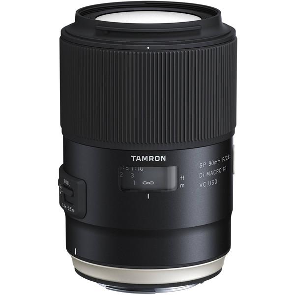 لنز تامرون مدل SP90mmF/2.8Di VC Macro 1:1 مناسب برای دوربینهای کانن