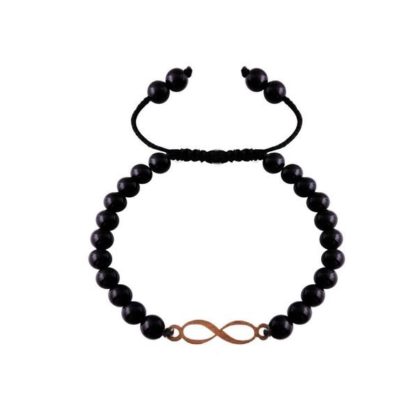 دستبند طلا 18 عیار مرجان مدل 0744