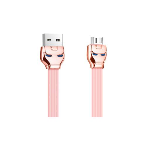 کابل تبدیل USB به Micro Usb مغناطیسی Hoco مدل U14 steel به طول 1.2 متر