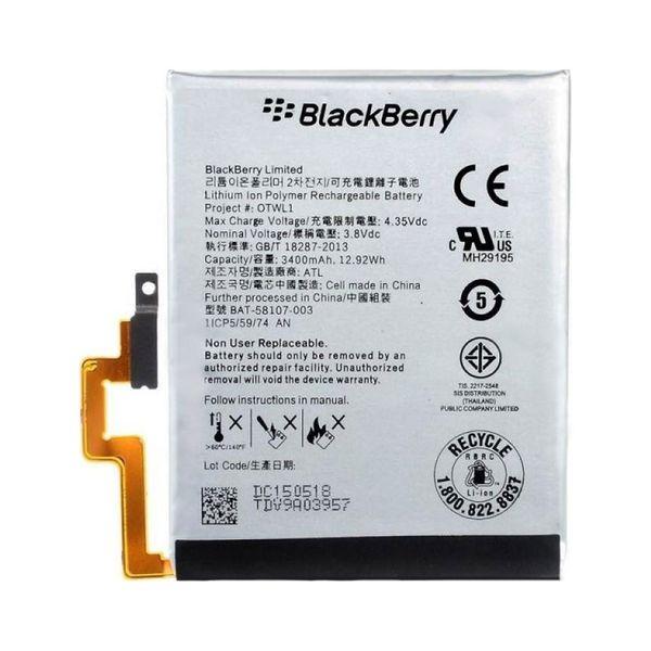 باتری موبایل بلک بری مدل OTWL1 با ظرفیت 3480mAh مناسب برای گوشی موبایل بلک بری Passport