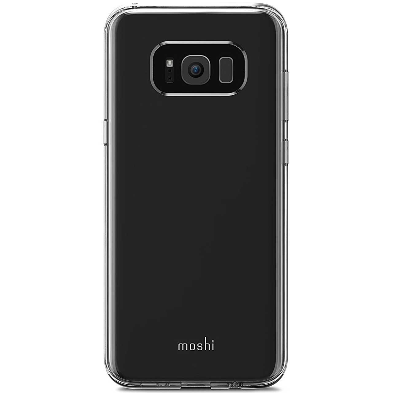 کاور موشی مدل Vitros Clear مناسب برای گوشی موبایل سامسونگ Galaxy S8 Plus