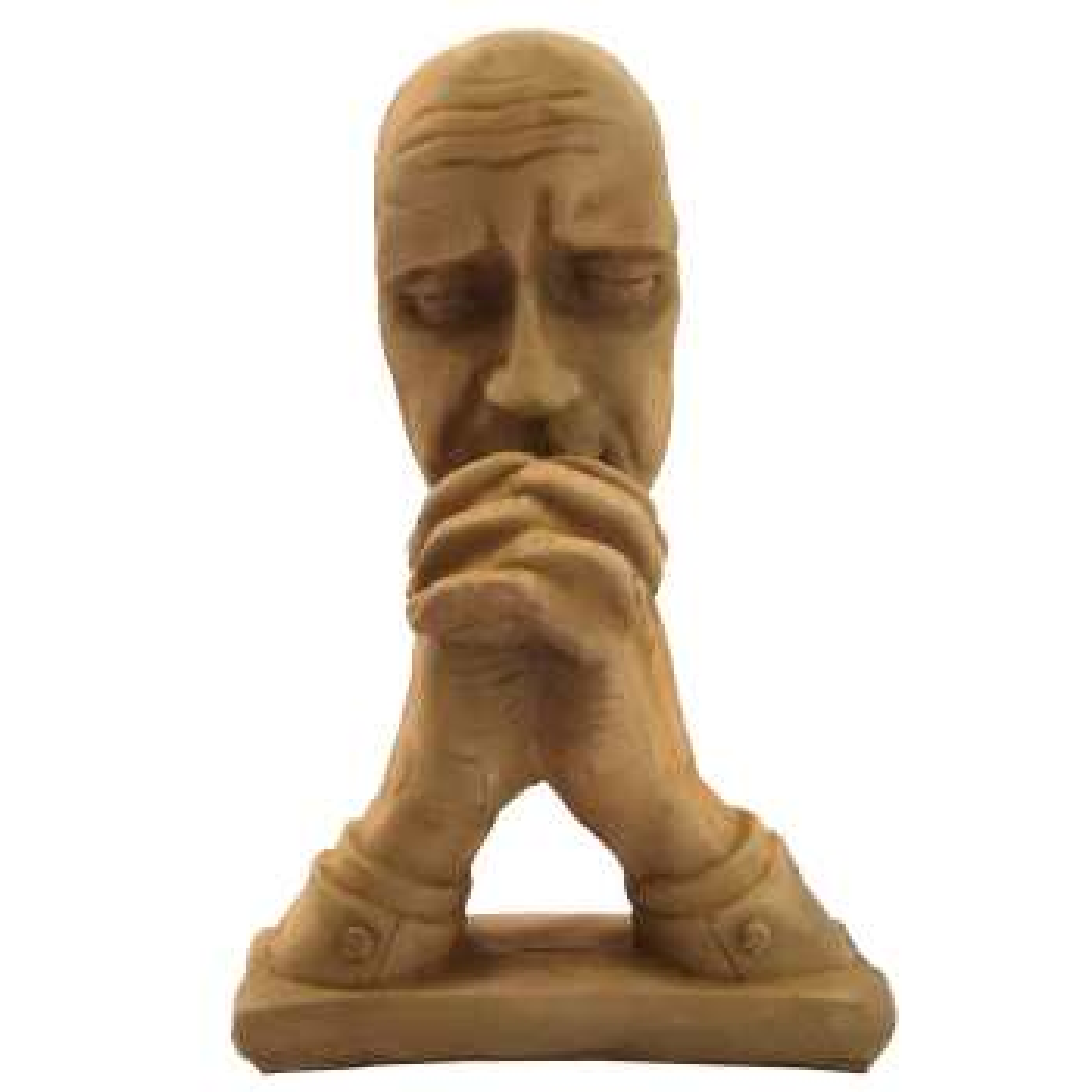 مجسمه طرح خاکی مدل Prayer