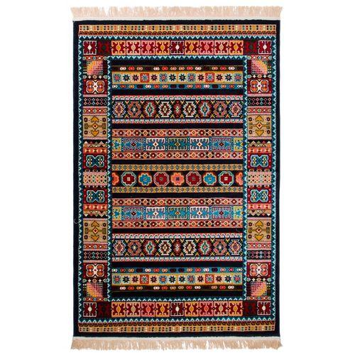 فرش ماشینی دنیای فرش طرح عشایری کد 1007