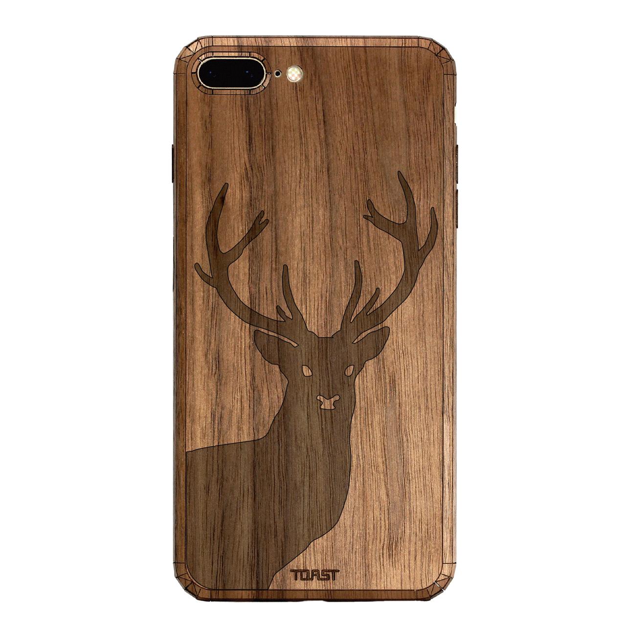 کاور چوبی تست مدل Stage مناسب برای گوشی های موبایل آیفون 7 Plus در رنگ های طلایی و نقره ای و رز گلد