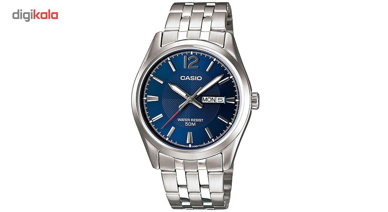 خرید ساعت مچی عقربه ای مردانه کاسیو مدل MTP-1335D-2AVDF