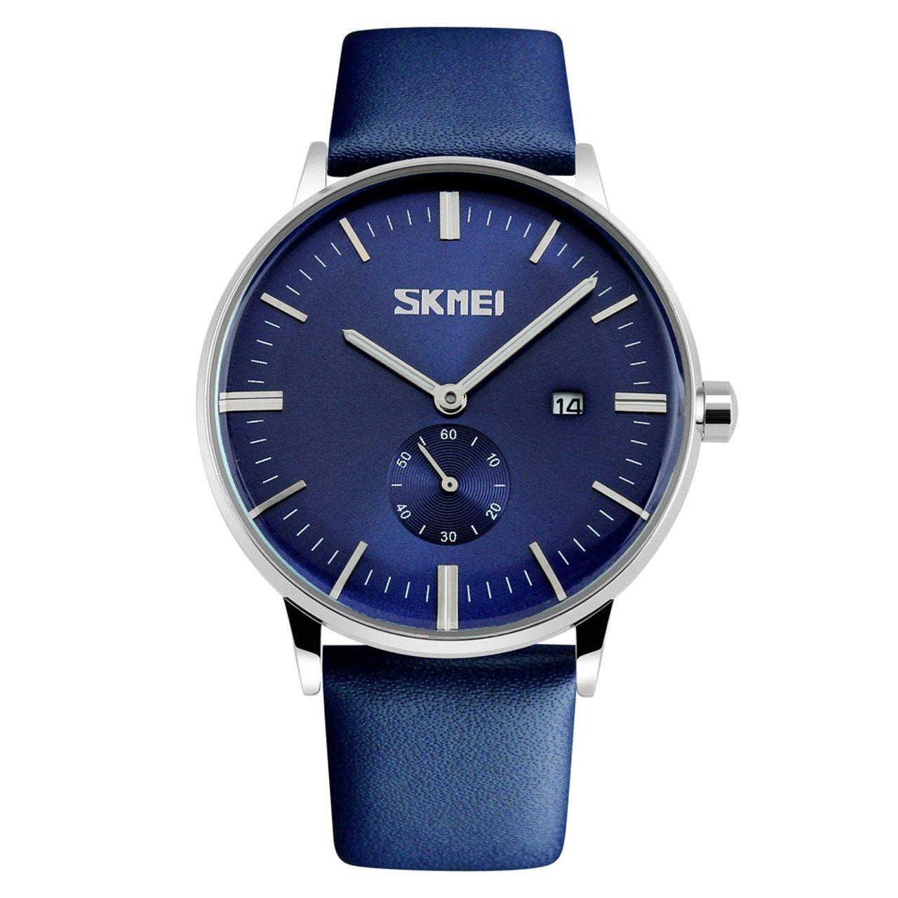 ساعت مچی عقربه ای مردانه اسکمی مدل S9083/Blue -  - 1
