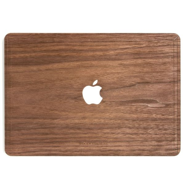 کاور چوبی وودسسوریز مدل Apple Logo مناسب برای مک بوک پرو رتینا 15 اینچی
