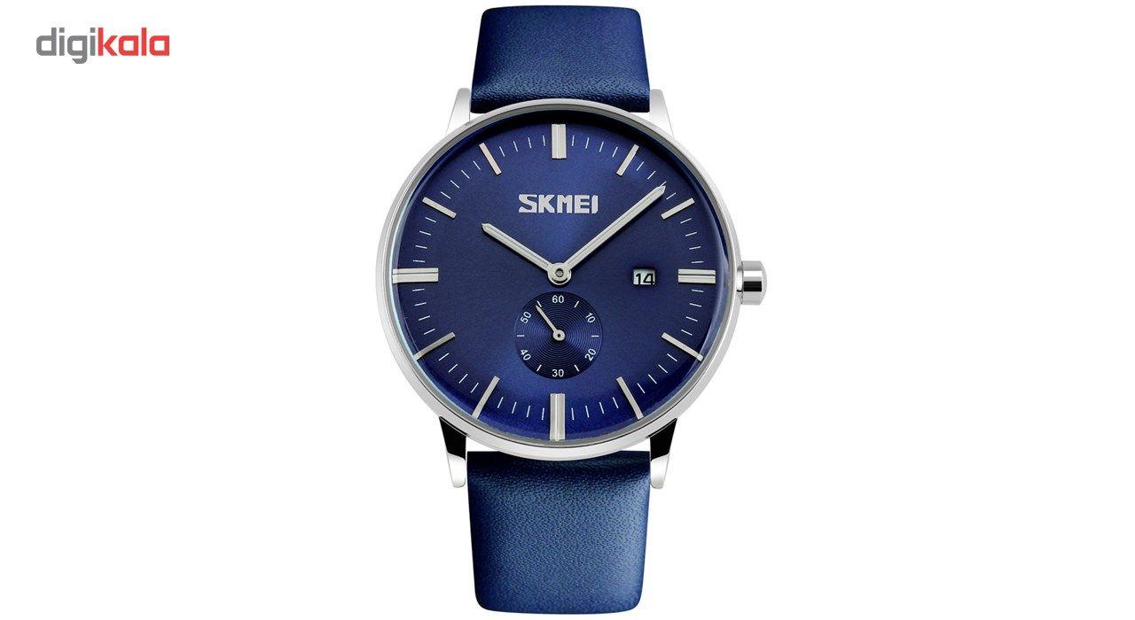 ساعت مچی عقربه ای مردانه اسکمی مدل S9083/Blue -  - 2