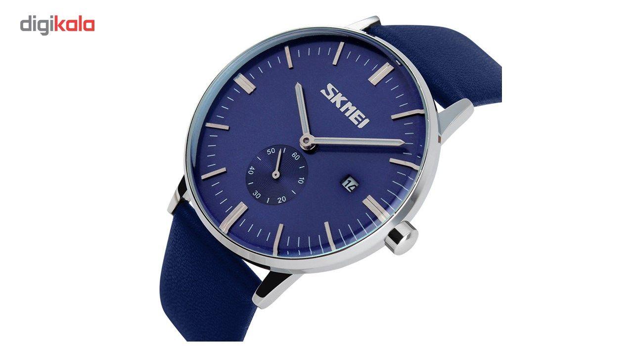 ساعت مچی عقربه ای مردانه اسکمی مدل S9083/Blue -  - 4