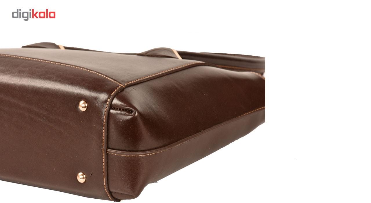 کیف دستی کهن چرم مدل V163-7