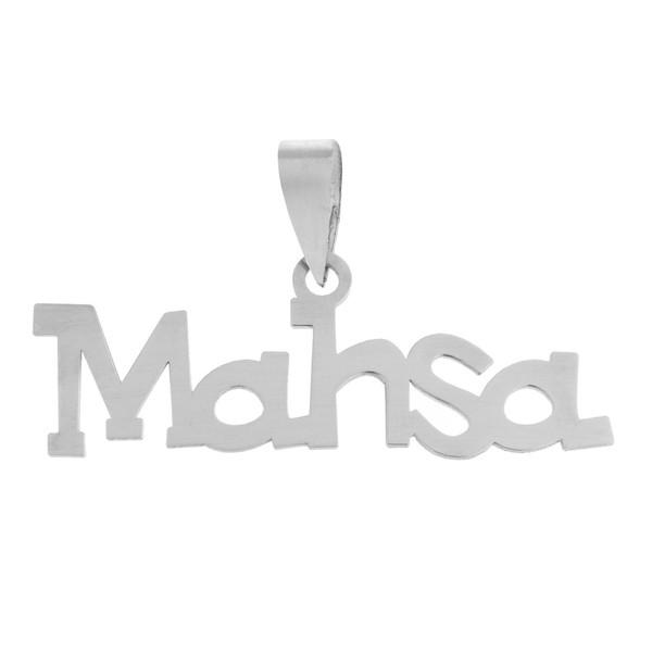 آویز گردنبند نقره مایا مدل MSN013