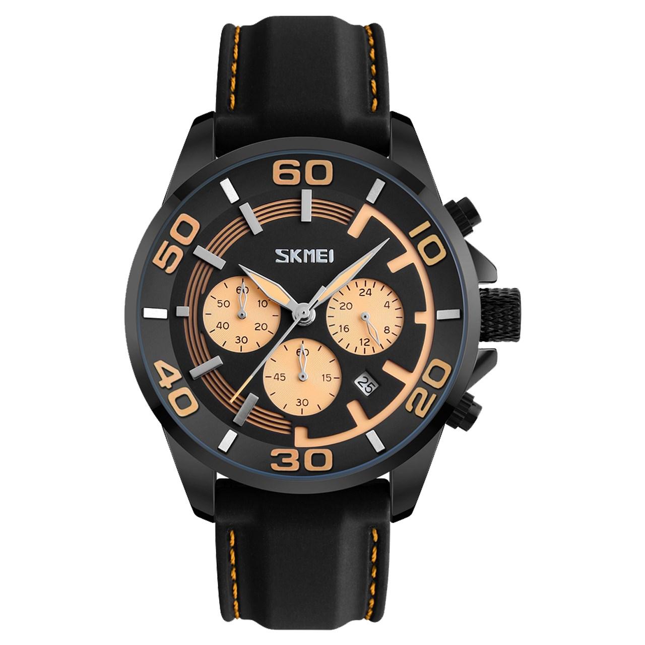 ساعت مچی  مردانه اسکمی مدل S9154/Yellow              اصل