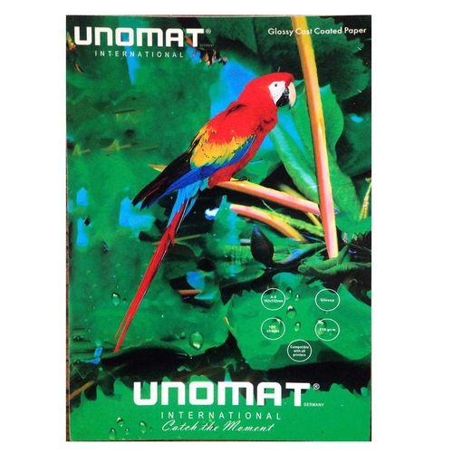 کاغذ عکس یونومات مدل Premium Inkjet Paper سایز A4 بسته 20 عددی