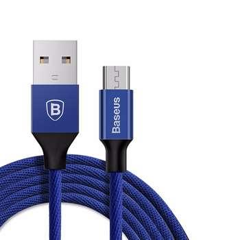 کابل تبدیل USB به microUSB باسئوس مدل Yiven به طول 1.5 متر
