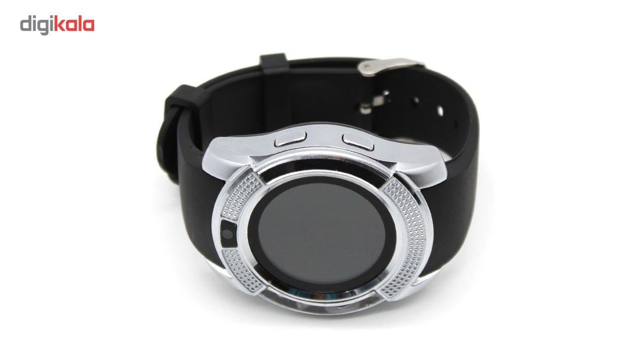 ساعت هوشمند اس دبلیو مدل Metal Face main 1 8
