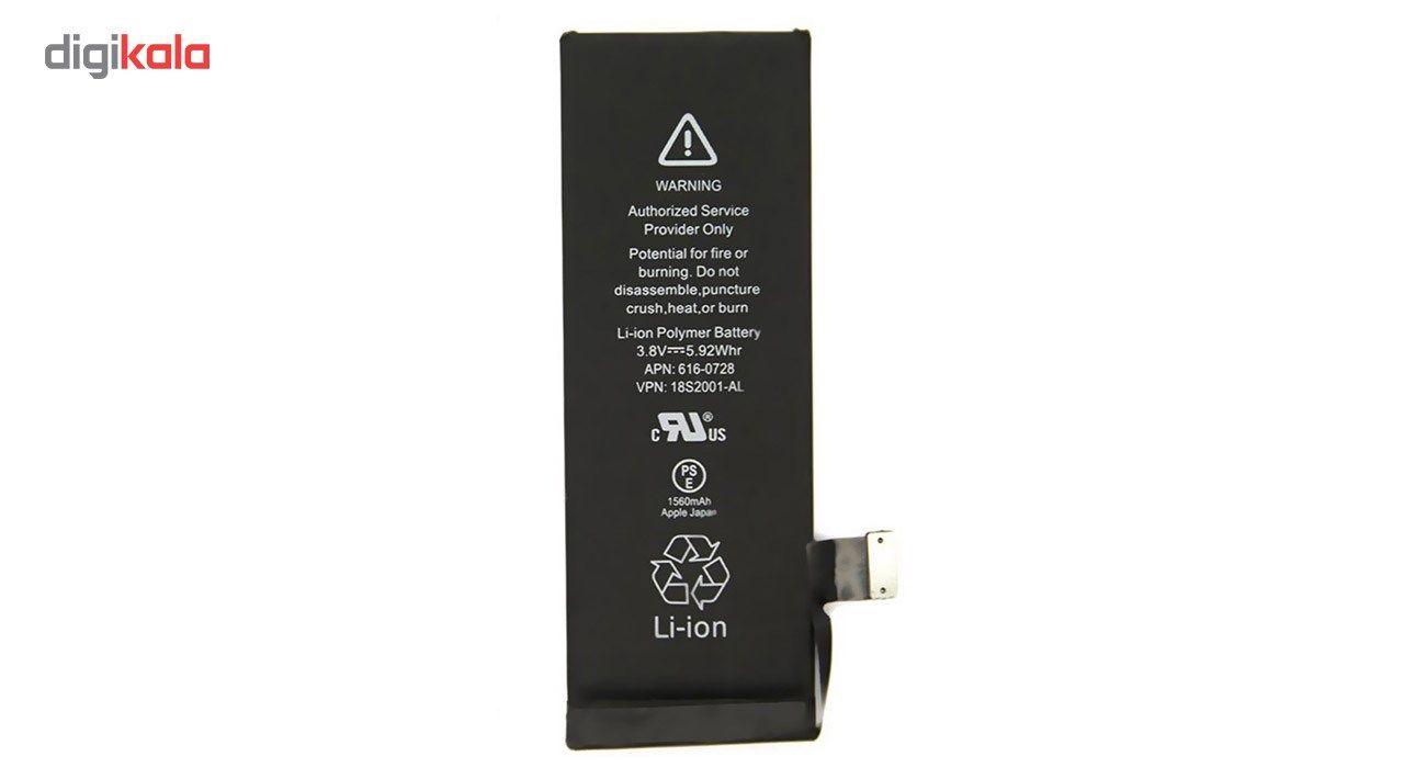 باتری موبایل مدل 18S2001-GL با ظرفیت 1560mAh مناسب برای گوشی های موبایل آیفون 5S main 1 2