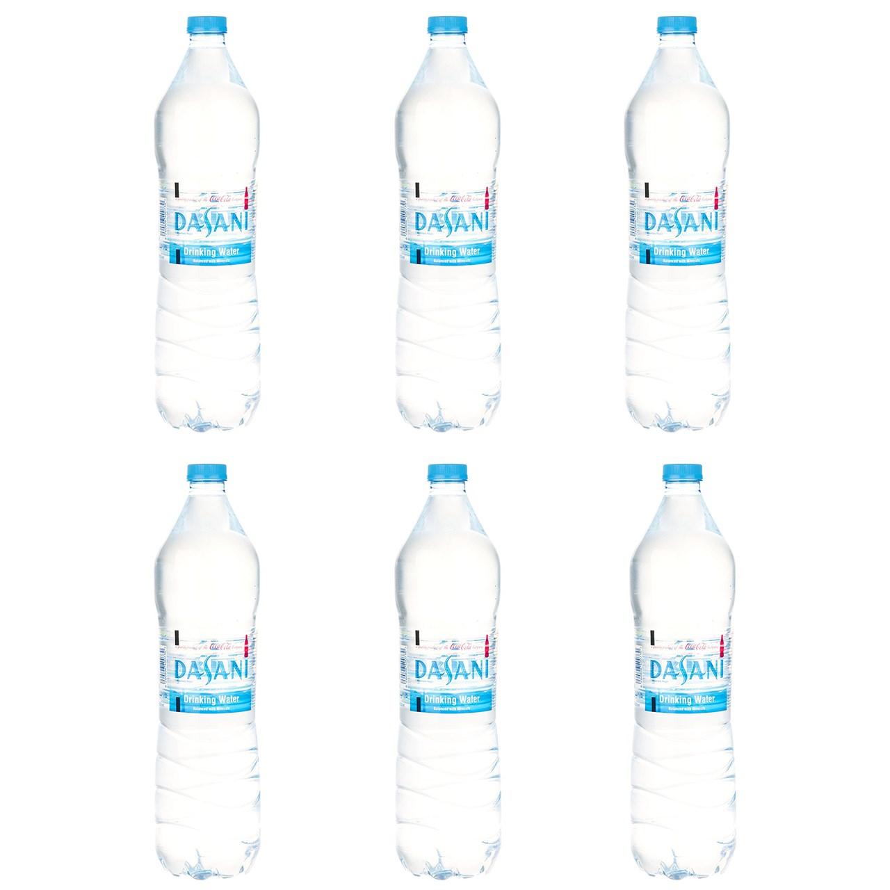 آب آشامیدنی دسانی مقدار 1.5 لیتر بسته 6 عددی