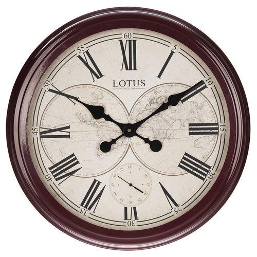 ساعت دیواری لوتوس مدل Redlands-16001