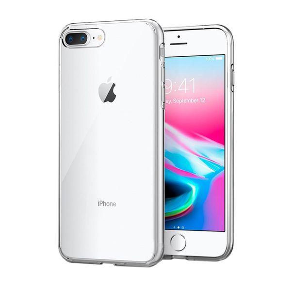 کاور اسپیگن مدل Liquid Crystal مناسب برای گوشی موبایل آیفون 8 پلاس