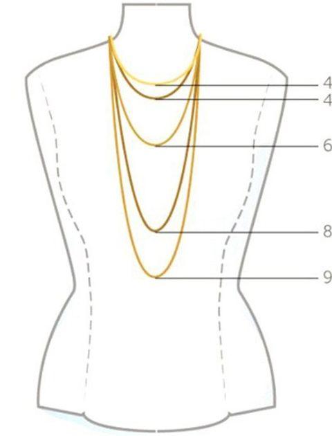گردنبند طلا 18 عیار ماهک مدل MM0502 - مایا ماهک -  - 4
