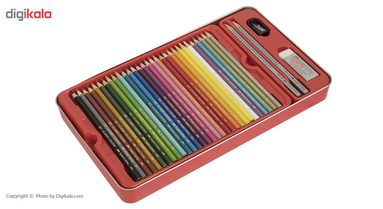 مداد رنگی 60 رنگ فابر-کاستل مدل Sketch main 1 4