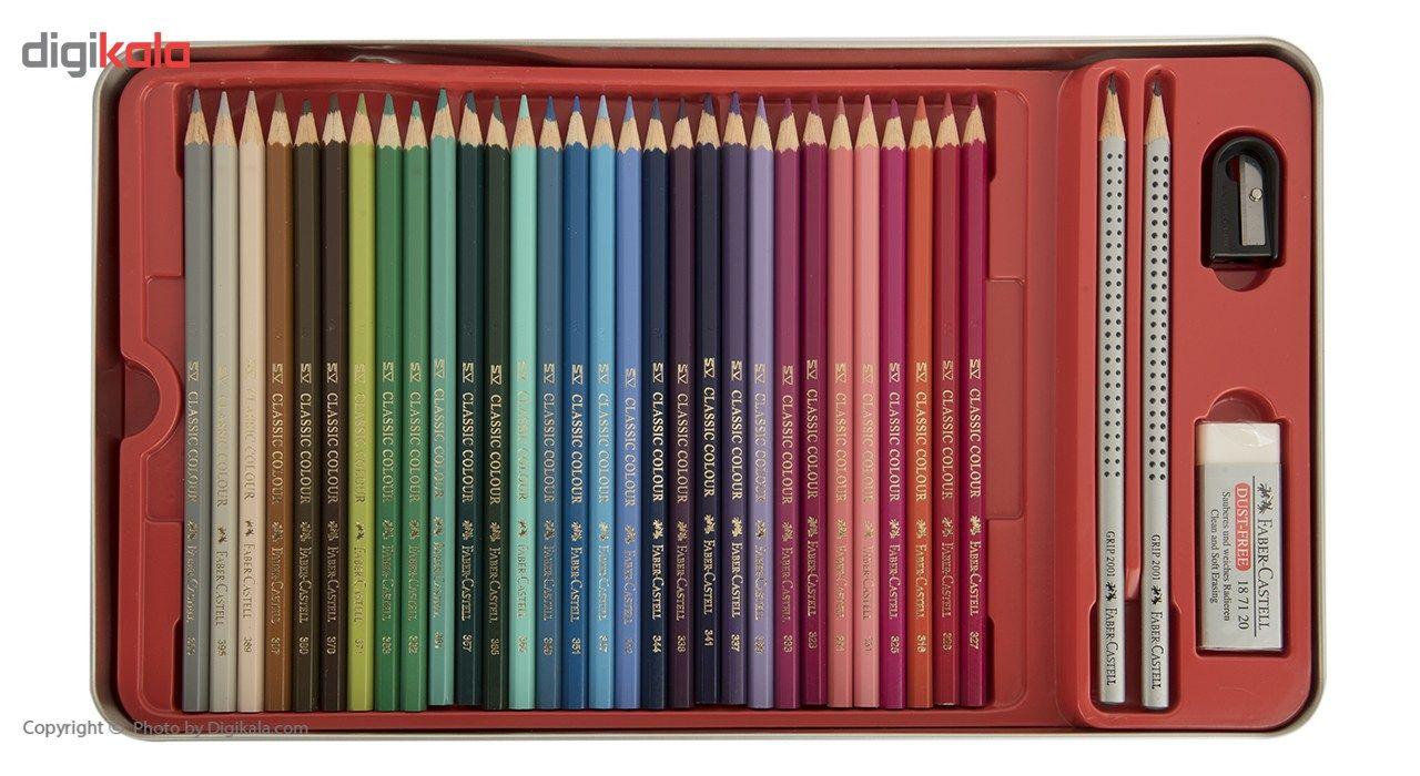 مداد رنگی 60 رنگ فابر-کاستل مدل Sketch main 1 5