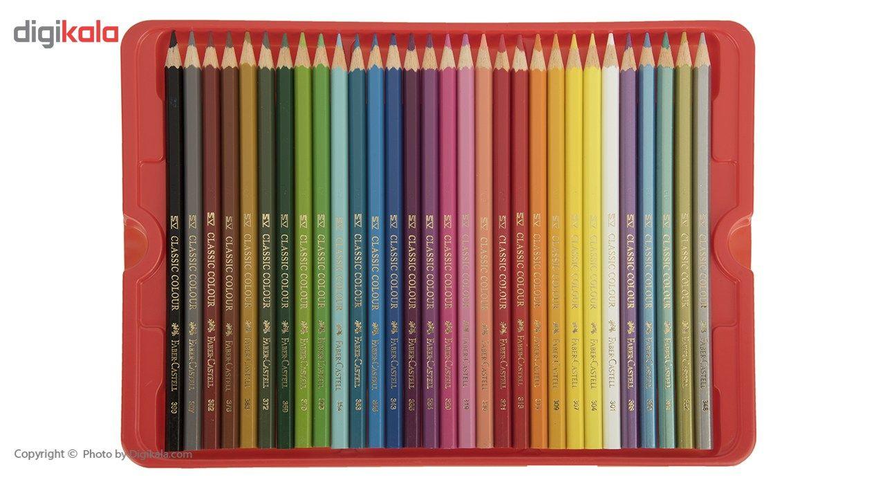 مداد رنگی 60 رنگ فابر-کاستل مدل Sketch main 1 6