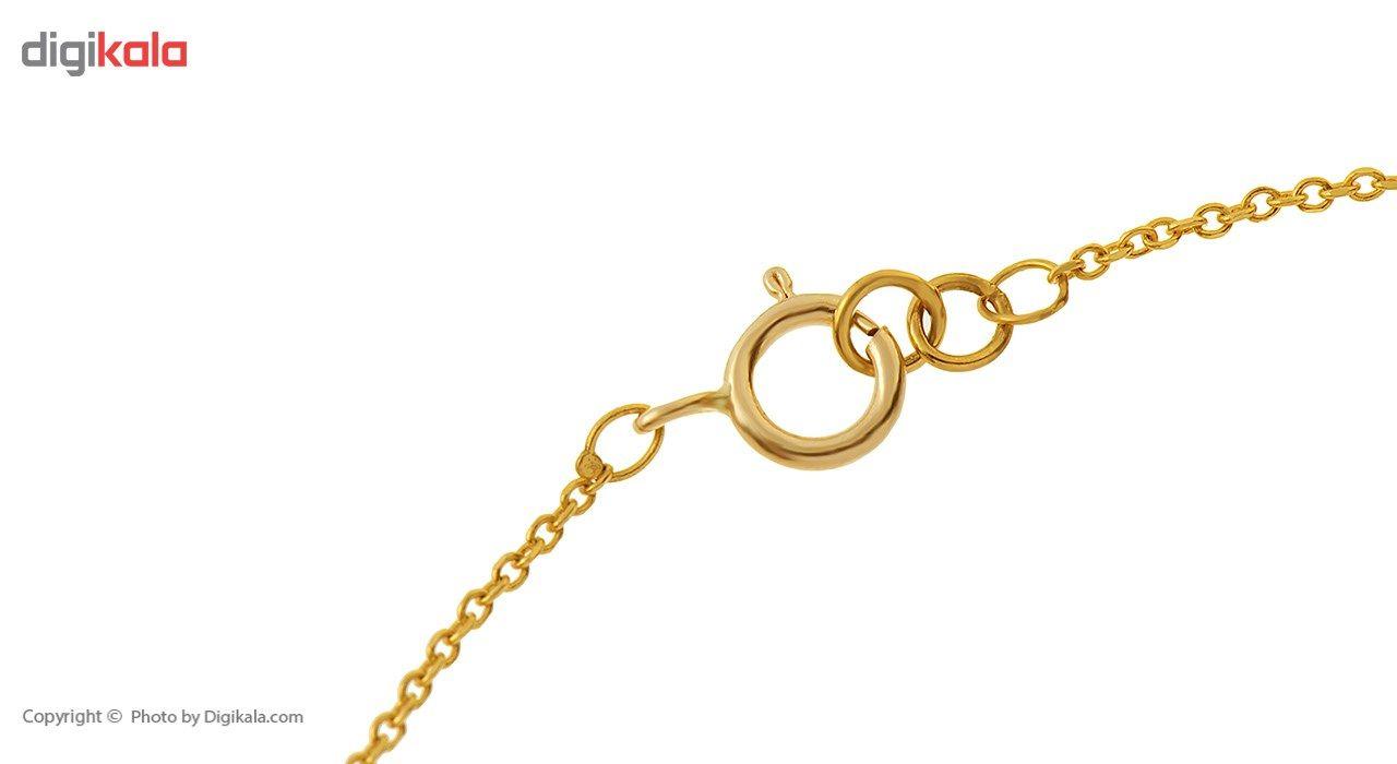 دستبند طلا 18 عیار ماهک مدل MB0175 - مایا ماهک -  - 1