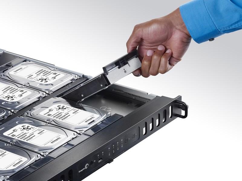 ذخیره ساز تحت شبکه 8Bay سیگیت مدل بیزینس استوریج رکمونت ظرفیت 16 ترابایت