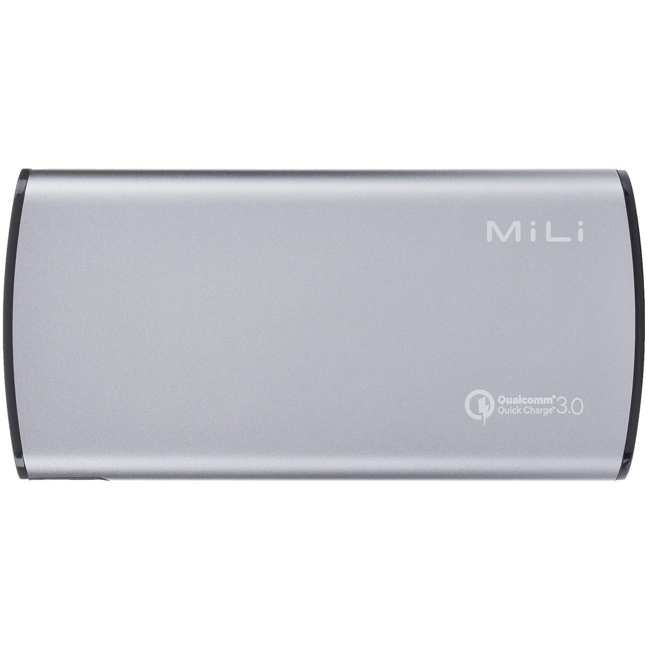 قیمت شارژر همراه میلی مدل HB-Q08 ظرفیت 8000 میلی آمپر ساعت