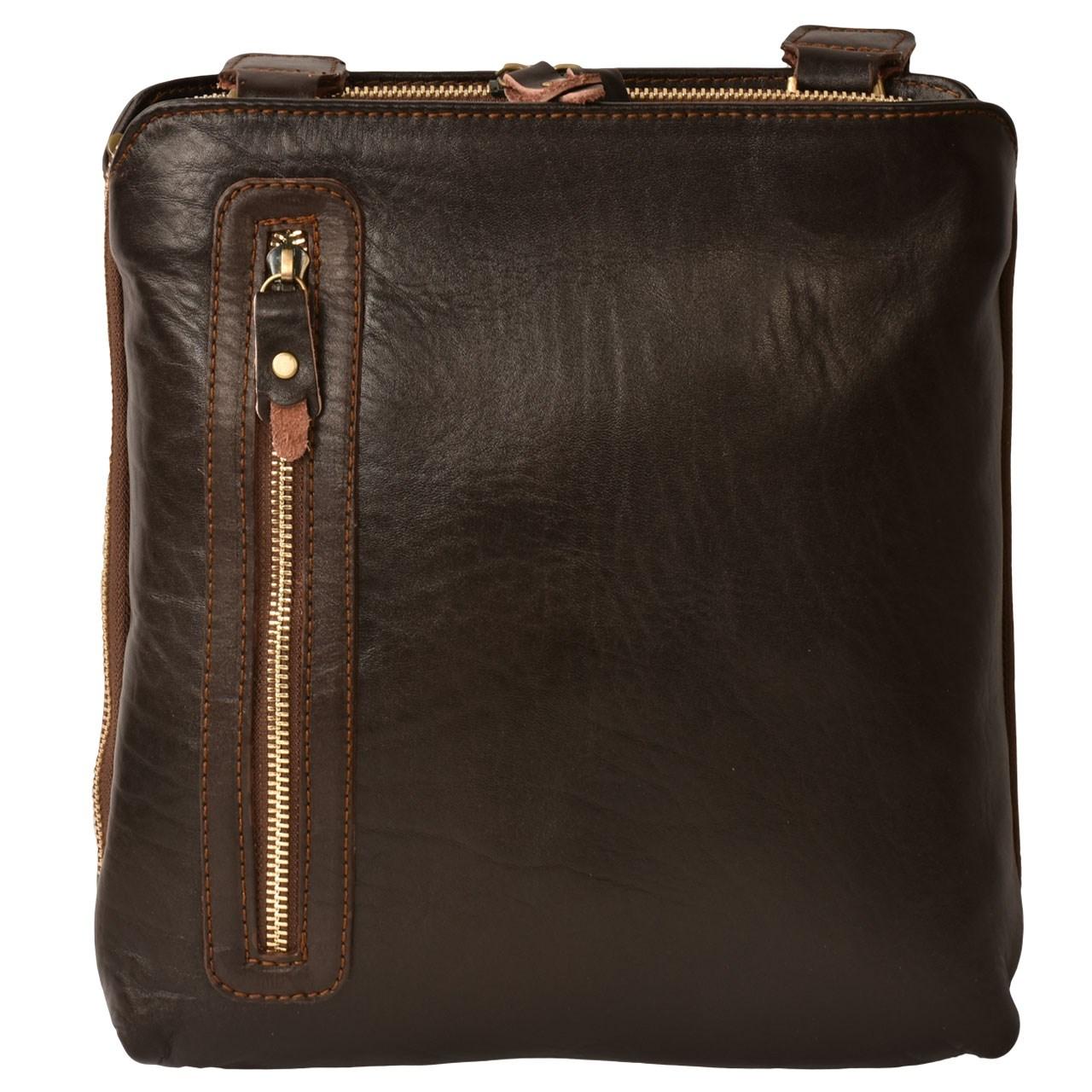 کیف دوشی کهن چرم مدل V151-1