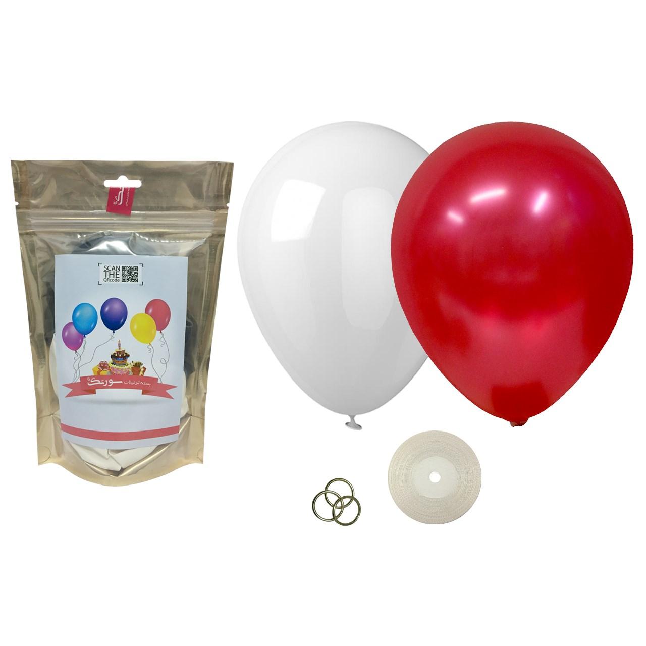 پک بادکنک آرایی Helium Quality سورتک مدل STLH-17