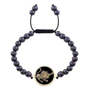 دستبند طلا 18 عیار مرجان مدل 0296