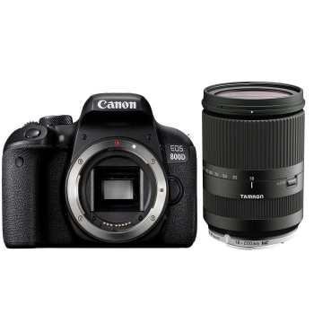 دوربین دیجیتال کانن مدل EOS 800D بدنه به همراه لنز تامرون AF 18-200mm F3.5 - F6.3 Di-II