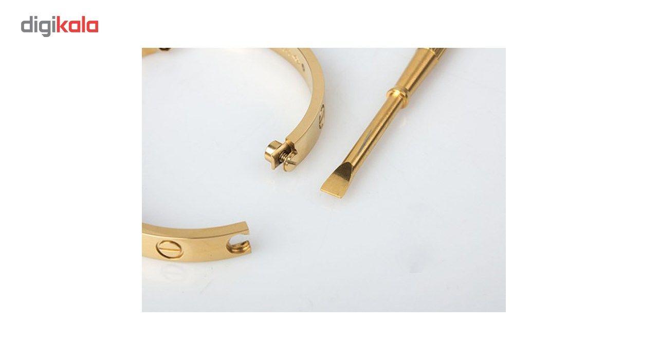 دستبند شهر شیک طرح کارتیر لاو مدل D224